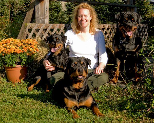 Resultado de imagen para rottweiler and owner